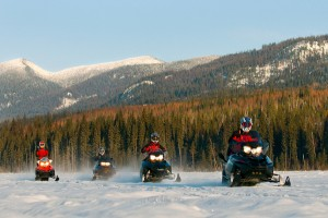 Western Montana towns for snowmobiling