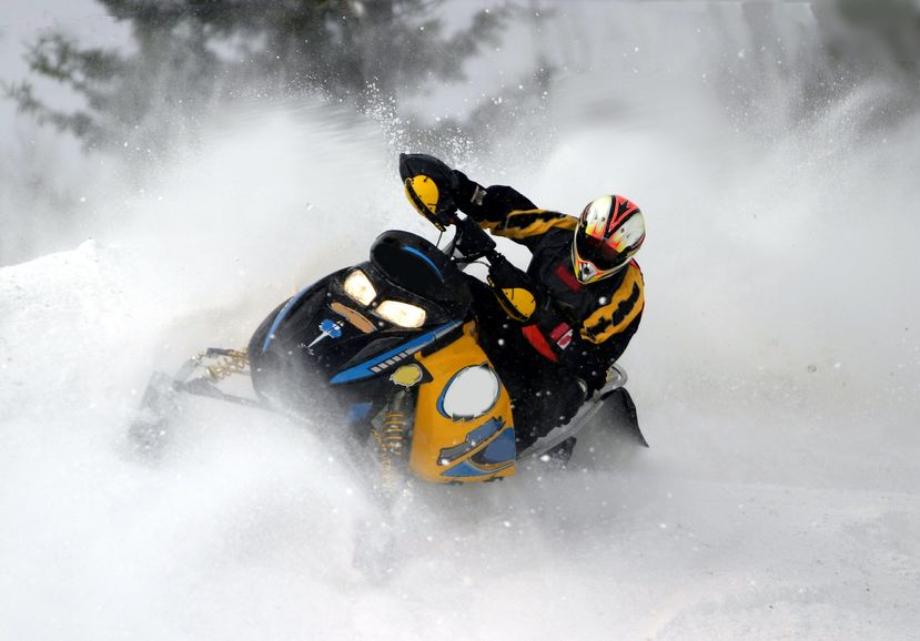 Studding a snowmobile track