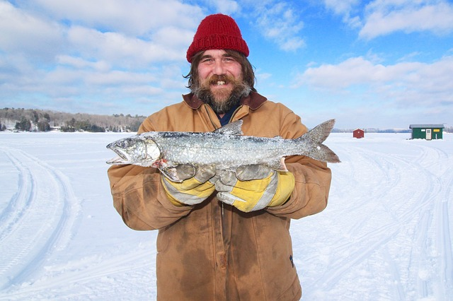fill your ice fishing bucket