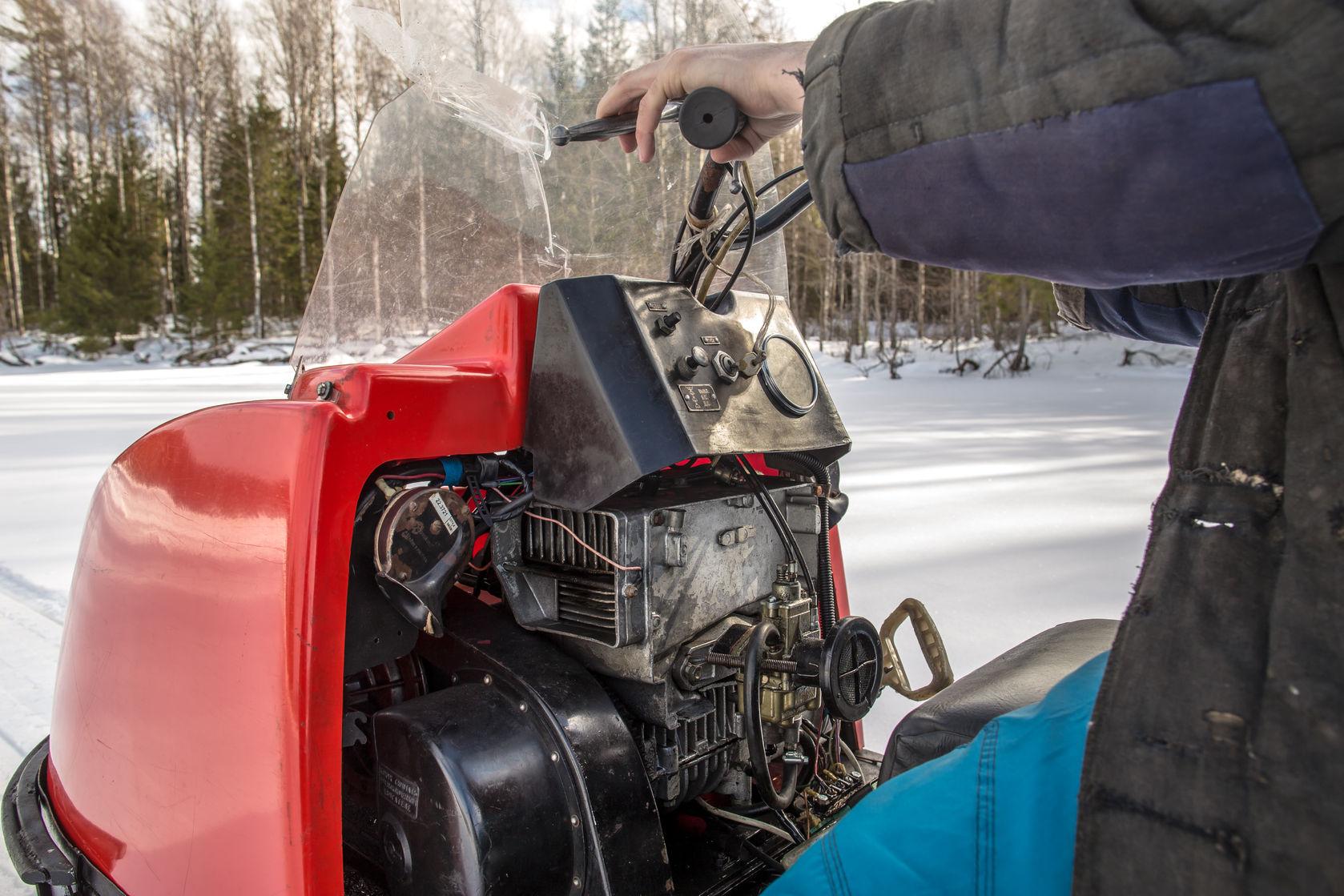 vintage snowmobiles